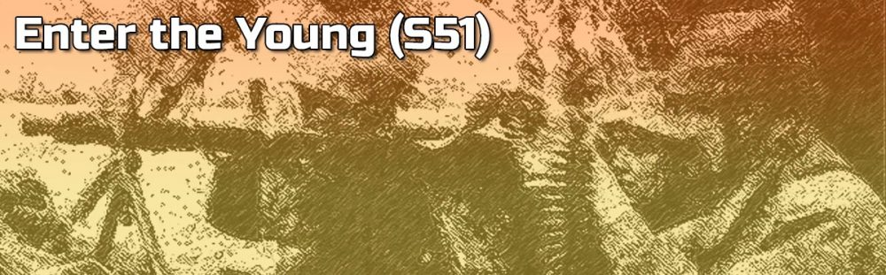 Advanced Squad Leader AAR - Enter the Young (S51)