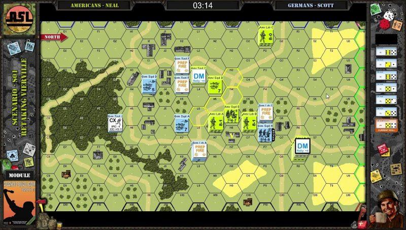 Advanced Squad Leader AAR - Retaking Vierville (S1)