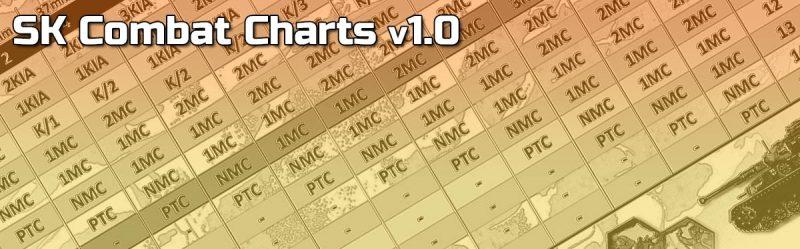 ASL Starter Kit Combat Charts