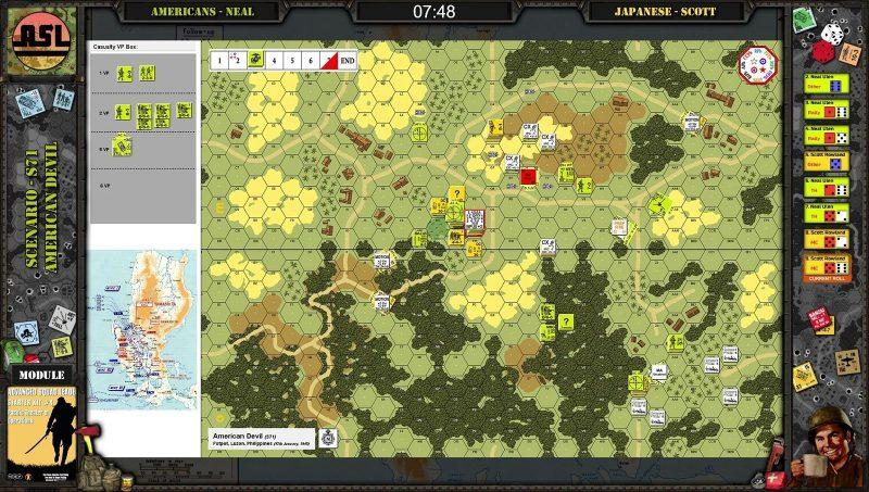 Advanced Squad Leader AAR - American Devil (S71)