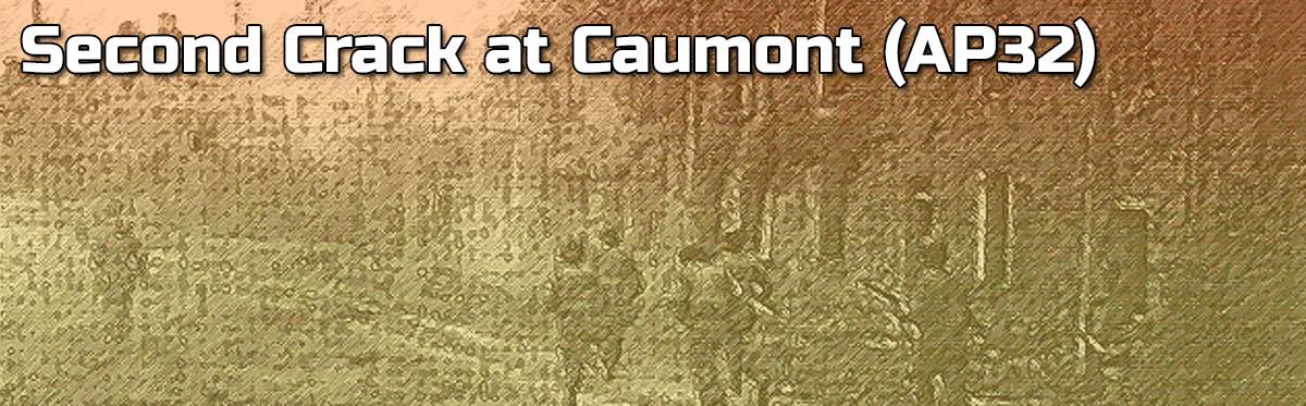 Advanced Squad Leader AAR – Second Crack at Caumont (AP32)
