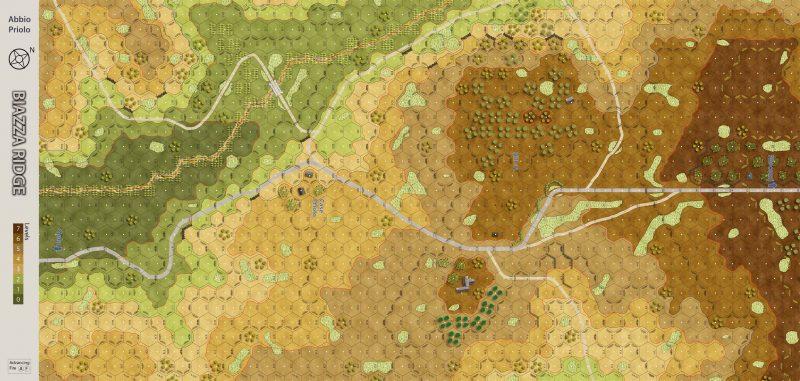 Biazza Ridge Abbio Priolo Map