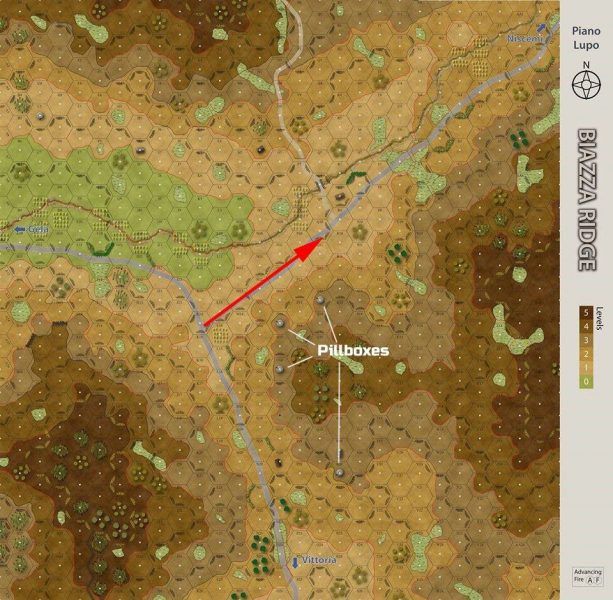 Biazza Ridge Piano Lupo Map