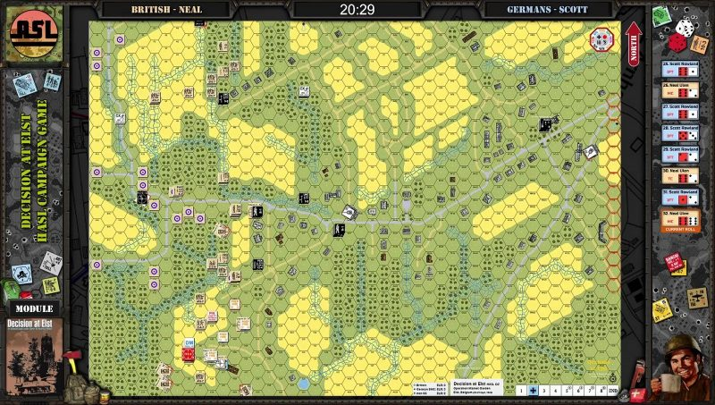Advanced Squad Leader - Decision at Elst CG Day1