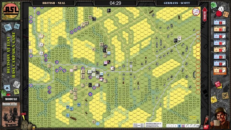 Advanced Squad Leader - Decision at Elst CG Day 2