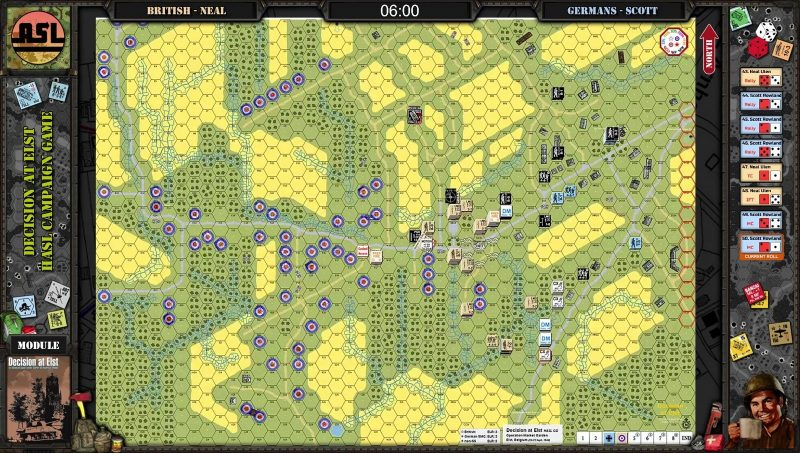 Advanced Squad Leader - Decision at Elst CG Day 3