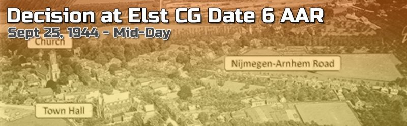 Advanced Squad Leader AAR – Decision at Elst CG Date 6 (END!)