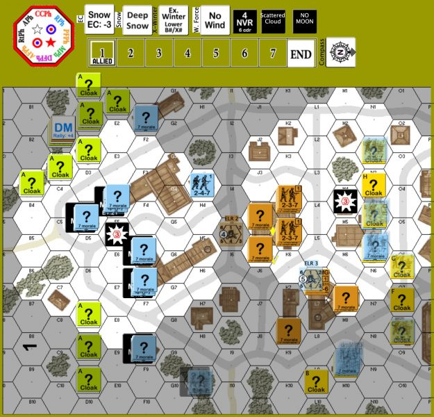 Advanced Squad Leader AAR - Between the Anvil and the Hammer II (TAC14)