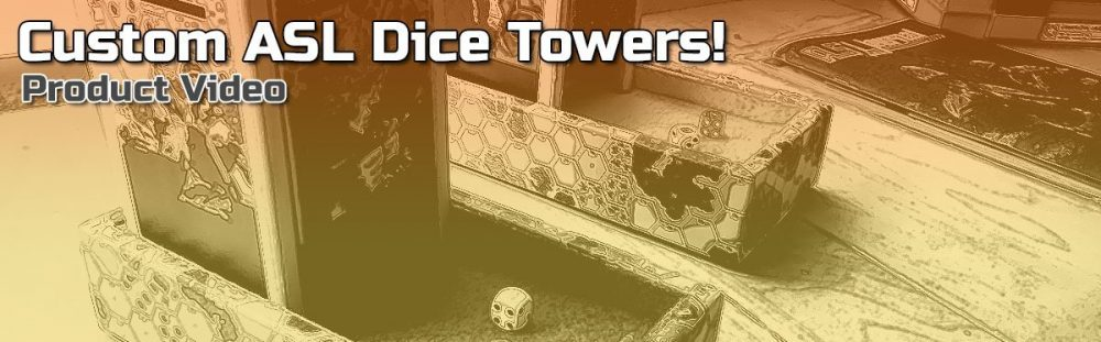 ASL Custom Dice Towers