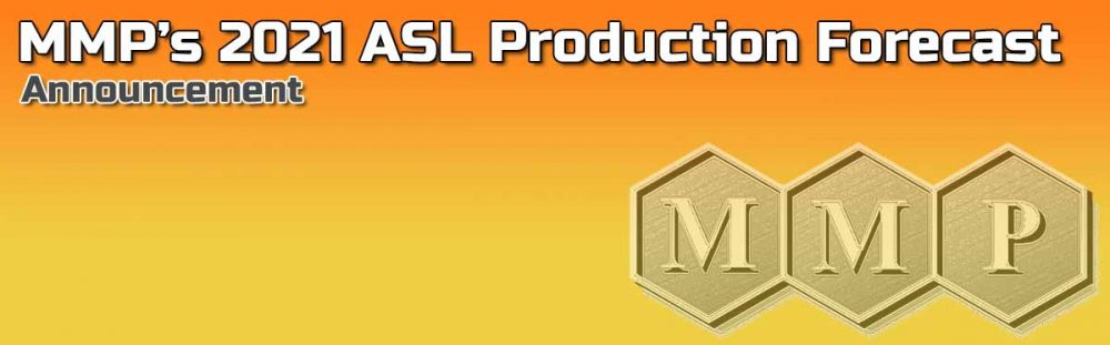 MMP's 2021 ASL Production Forecast