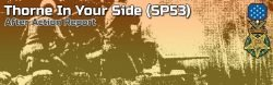 Advanced Squad Leader AAR - Thorne In Your Side (SP53)