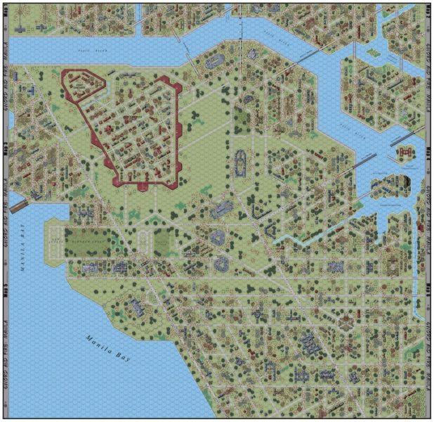 Sword & Fire: Manila Map